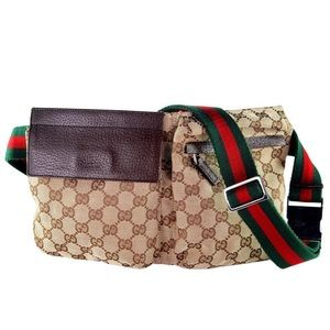 Authentic Gucci Italy GG Authentic Gucci Fannypack